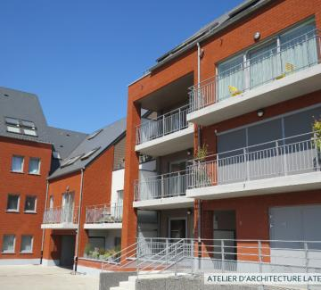 Ensemble de logements à Arquennes